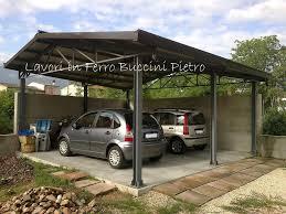 tettoia in ferro tettoia auto ferro per tetto designs tettoie in con carport legno