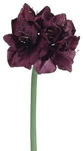 Silk Amaryllis Flowers - silk plants direct amaryllis pack of 6 traditional