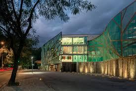 designboom green school mareines patalano s mopi school clad with transparent leaf like