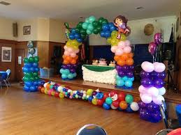 balloon centerpiece ideas diego birthday balloon decorations party ideas seshalyn