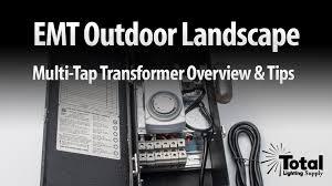 Landscape Lighting Supply by Emt Outdoor Landscape Multi Tap Transformer Overview U0026 Tips By