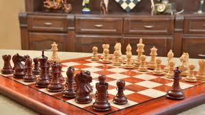 Buy Chess Set by Buy Chess Set U0026 Pieces Combo In Bud Rose Wood Online Best Quality