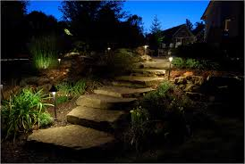 Landscape Path Lights How To Use Landscape Lighting Techniques Lighting Techniques