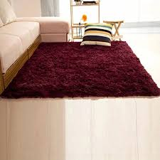 Modern Shaggy Rugs Dodoing Soft Indoor Modern Shag Area Silky Smooth Rugs