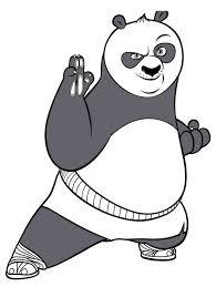 krafty kidz center free kung fu panda coloring pages