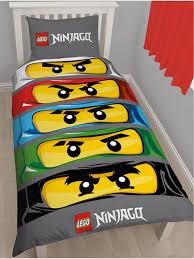 Ninjago Bedding Set Lego Ninjago Duvet Cover And Pillowcase Bedding Set