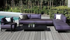 canapé d extérieur pas cher salon de jardin canapé fauteuil bas et banquette terrasse et