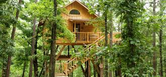 whispering wood treehouse eureka springs cabins treehouse cottages