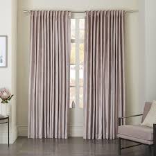 cotton lustre velvet curtain blackout lining dusty blush