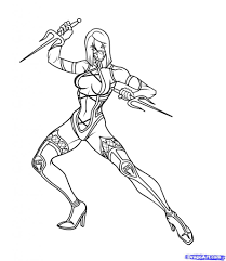 mortal kombat coloring pages fablesfromthefriends com