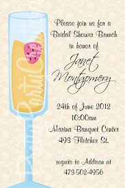 invitation to brunch wording invitation wording for elopement party best of mimosa bridal