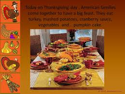 thanksgiving story and traditions ppt