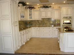 Antique White Kitchen Cabinets Off White Antique Kitchen Cabinets Home Design Ideas