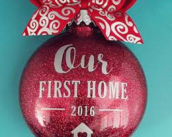 our home ornament ornament personalized