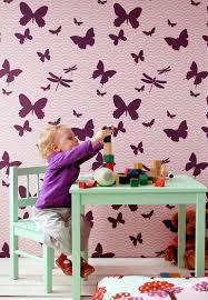 wallpaper for home interiors butterflies wallpaper design quecasita