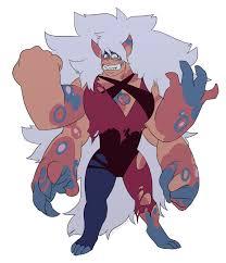 matrix opal gemsona jasper y monstruo del norte fusión pero parecido a jasper