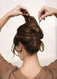 Einfache Hochsteckfrisurenen Zum Selber Machen Kurze Haare by Hochsteckfrisurenen Glatte Haare Selber Machen 100 Images