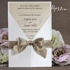 handmade gatefold wedding invitation paper cards