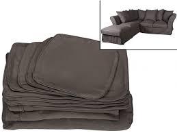 coussin pour canapé d angle pour canapé d angle modulable pouf tissu victoire ii 6 coloris