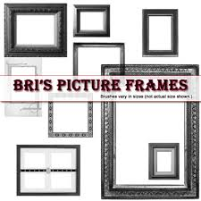 25 free frame brushes to add in your brush library pixelbell