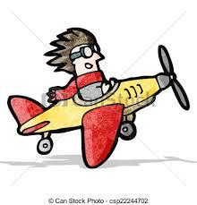 aereo clipart aereo cartone animato pilota clipart vettoriale cerca