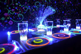 glow party birthday party ideas a glow party roller skating rink