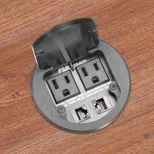 desk power outlets desk grommets and snap bushings