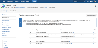Jira Service Desk Demo Translation For Jira Service Desk Atlassian Marketplace