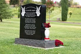 upright headstones chapman monument company upright headstones