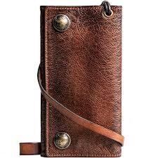 mens travel wallet images Handmade men 39 s fashion leather travel wallet card holder secure jpg