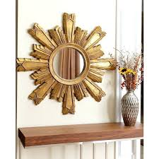 Silver Wall Mirrors Decorative S Wood Wall Decor Tar – Foodpark