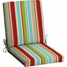 Cheap Patio Chair Cushions Mainstays Outdoor Patio Dining Chair Cushion Tropical