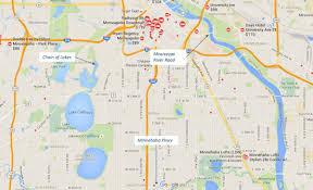 Minneapolis Neighborhood Map Great Runs In Minneapolis St Paul U2013 Great Runs U2013 Medium