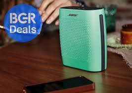 black friday bose speakers rare sale saves you 10 on bose soundlink bluetooth speakers in