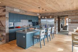 slate blue painted kitchen cabinets 31 awesome blue kitchen cabinet ideas home remodeling