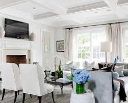 all white living room houzz