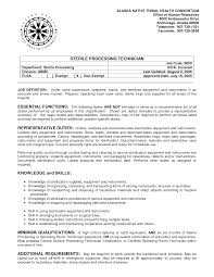 surgical tech resume sample resume templates