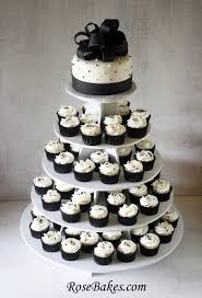 black and white wedding cakes behance