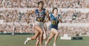 wilma rudolph sprinting 1960 summer olympics black women