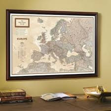 Map Of Africa And Europe by 1915 Europe Map With Africa And Asia National Geographic Store