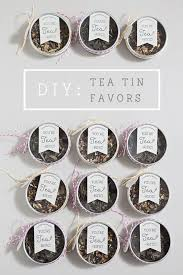 tea wedding favors learn how to make these tea wedding favors bridal