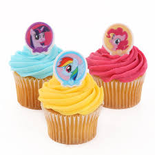 my pony cupcake toppers my pony officially licensed 24 cupcake topper