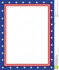 red white blue borders blue border clipart red white