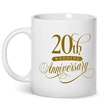 geschenk 20 hochzeitstag 20 hochzeitstag platinum hochzeitsgeschenke 20th wedding tasse