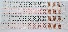 standard 52 card deck