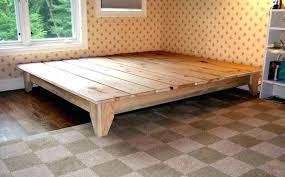 Raised Platform Bed Frame Raised Platform Bed With Stairs Platform Bed With Stairs Platform