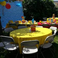 tablecloths for rent tablecloths linens chair covers for rent big blue sky party