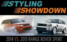lexus lx 570 vs range rover styling showdown 2013 vs 2014 range rover sport photo u0026 image