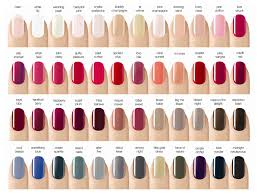sensational nail polish color chart fall 2013 color gel