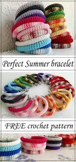bracelet crochet patterns images Beautiful crochet bracelet maki crochet patterns jpg